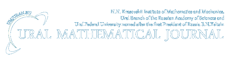 Ural Mathematical Journal